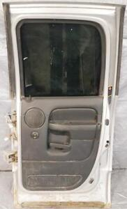 DOOR REAR Right / Passenger side - complete for 2002 to 2008 DODGE RAM 1500 TRUCK $200