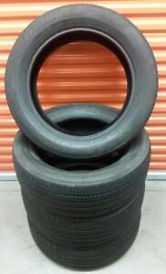 (Z11) 4 Pneus Ete - 4 Summer Tires 245-55-19 Bridgestone 7-8/32