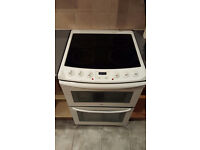 Zanussi Electrolux 60cm double oven electric cooker