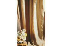 Curtains beige linen from Ikea very good condition