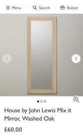 John Lewis Mirror RRP £60, new