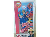 Fireman Sam Toddler bed ( New in box)