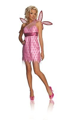 Playboy Fairy Costume (Secret Wishes Women's Pink Playboy Fairy Adult Costume)