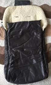 Winter blanket/envelope for baby