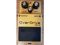 Boss OD-3 - Over Drive Guitar Pedal