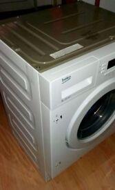 Beko integrated washing machine new-ex display