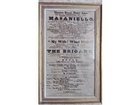 Rare Poster from 5th May 1830 Theatre Royal