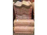 ASSORTED ROOFING TILES - all vgc