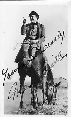 Max Miller Cheekie Chappie Comedian Comedy signed autograph plain back RP old pc