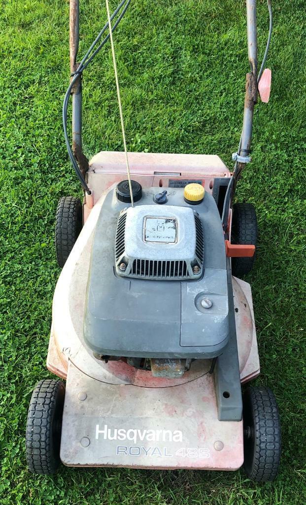 Husqvarna Royal 48s Self Propelled lawnmower Kawasaki engine no grass bag |  in Bangor, County Down | Gumtree