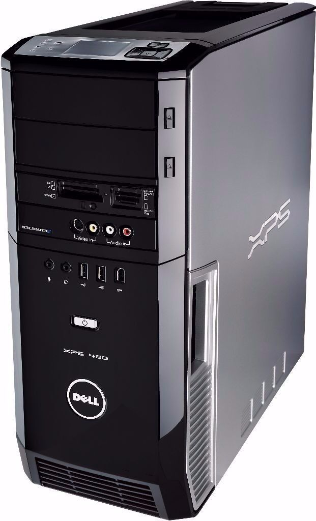 Dell XPS gaming PC, 8GB RAM, HD 6850, Quad Core | in Sheffield, South Yorkshire | Gumtree