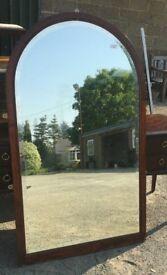 Large Arched Top Mirror - Bedroom - Hallway - Hotel - Dressing Room - Salon