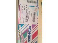 Friday wireless festival ticket
