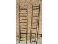 Wooden ladders for Shop Display - £20 each