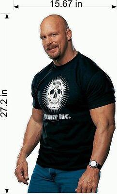 Stone Cold Steve Austin WRESTLING WWF Bedroom Fathead