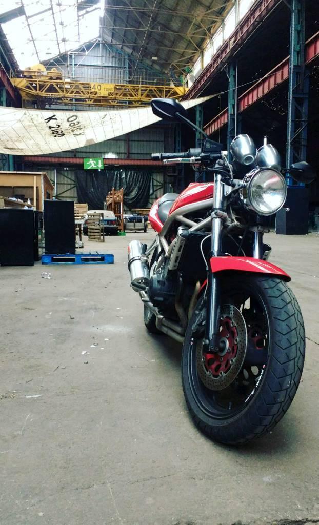 Suzuki bandit 400, A2 legal, carbs balanced, runs amazing