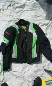 RST blade textile motorcycle jacket