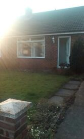 Two bedroom semi-detached bungalow in Fairfield. Fully furnished. Available early March 2017.