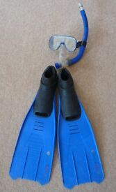 Snorkel, Mask and Fins