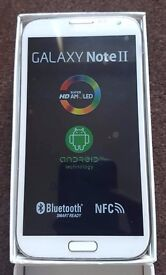 Samsung Note 2 in box with all accessories SIM FREE UNLOCKED