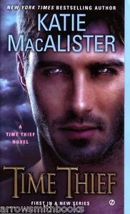 Katie-MacAlister-Time-Thief-Paranormal-Romance-Pbk-NEW