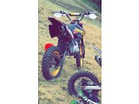 Stomp pit bike 140cc crf70 frame