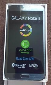 Samsung Galaxy Note 2 Grey in a Box with all the Accessories - SIM FREE UNLOCKED To All Networks