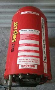 Jetfire J25 industrial warehouse heater Maitland Maitland Area Preview