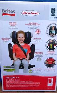 Britax Safe n Sound Encore 10 - expandable child car booster seat Grange Brisbane North West Preview
