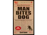 'Man Bites Dog' Headline Card Game (new)