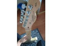Fender squier telecaster (with guitar case)