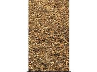 Approx 40m2 Golden Gravel. For Garden / Driveway / Landscaping etc