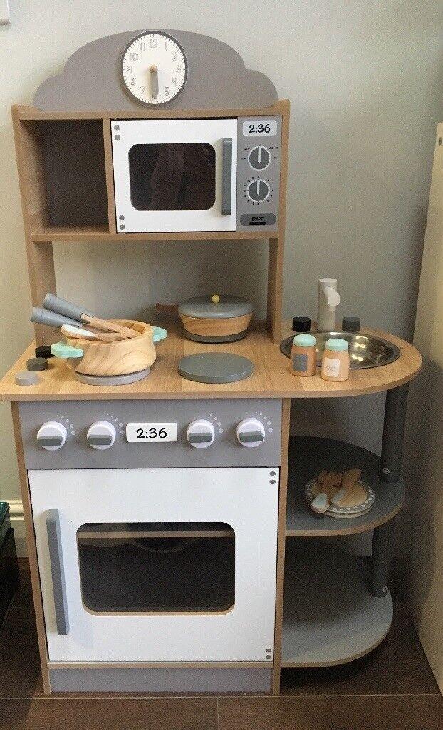 Kids wooden kitchen - brand new