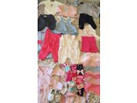 Baby Girl Clothes Bundle First Size/Newborn