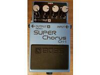 Boss CH-1 - Super Chorus Guitar Pedal.