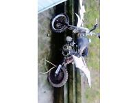 110 project pit bike with spare 110 engine