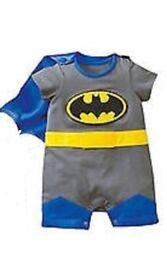 Baby batman fancy dress costume