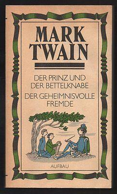 Der Prinz und der Bettelknabe – Mark Twain & Elisabeth Shaw  DDR Jugendbuch
