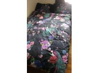 Warm duvet + 2 duvet sets (sheet, duvet cover & pillow cases ) + cushion