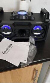 Goodmans Boombox speaker