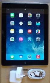 Apple iPad 2 A1395 16GB Wifi Black 3 Month Warranty