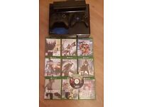 Xbox one with Kinect & 10 games