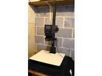 Durst M370BW photographic enlarger complete with 50mm lens. Full darkroom equipment available.