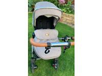 Silver cross Chelsea limited edition- pushchair, carrycot and car seat