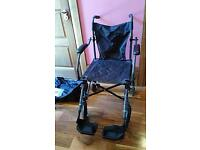 Collapsible Wheelchair in carry bag