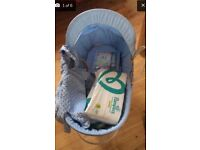 Moses basket and lots extra baby items