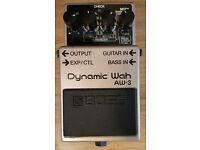 Boss AW-3 - Dynamic Wah Guitar Pedal.