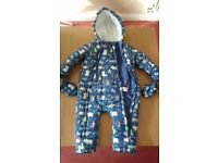 Snowsuit all in one 12-18 mths