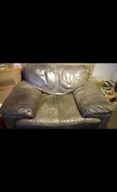 Large Leather Armchair Free to Collector