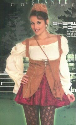 Sherwood Forest Maid Marian Sexy Adult Costume Size Large ()